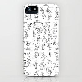 Esserini Schizzati iPhone Case