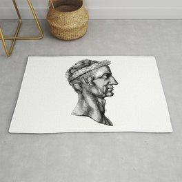 Julius Caesar Vintage Sketch Rug