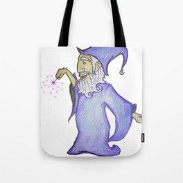Jolly Wizard Tote Bag