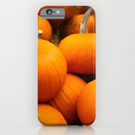 Orange Pumpkins iPhone Case