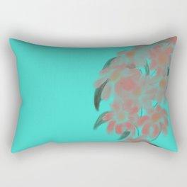 Pour Flowers Rectangular Pillow