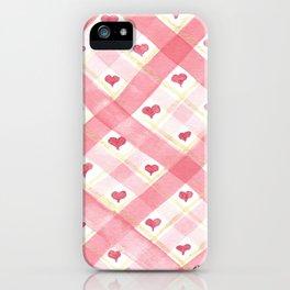 Love Wove Through iPhone Case