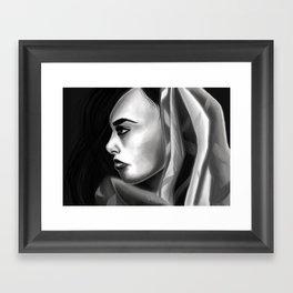 Fierce spirit Framed Art Print