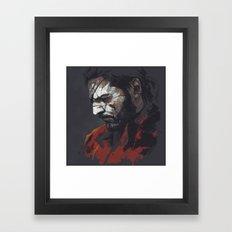 MGSV.Venom Snake Framed Art Print