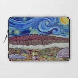 Sunny Starry Night Laptop Sleeve