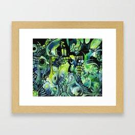 Little Underwater Earthquakes Framed Art Print