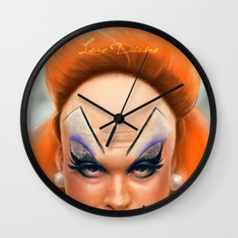 Love Divine Wall Clock