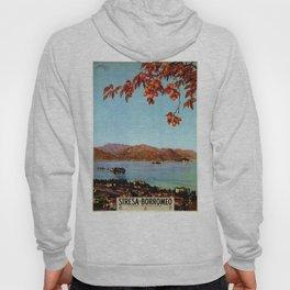 Stresa Borromeo Lake Maggiore 1927 Hoody