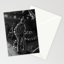 Parasitic Nightmare Stationery Cards
