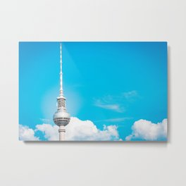 TV Tower - Berlin Metal Print