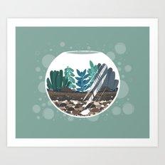 Terrarium Art Print