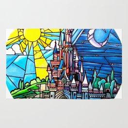Sleeping Beauty's castle Rug