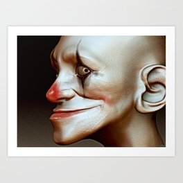 Boom Clown Art Print