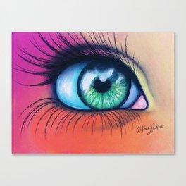 Kaleidoscopic Vision Canvas Print