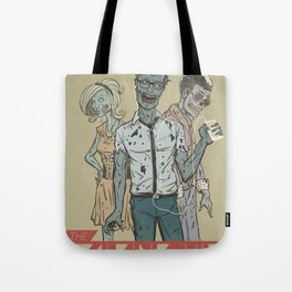 The Walking Hip Tote Bag