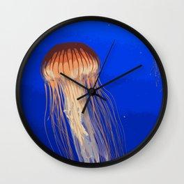 Jellyfish Wall Clock