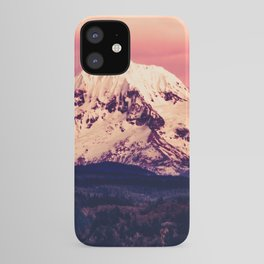 Mt Hood Mountain with Snow iPhone Case