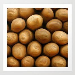 Potato Potato Art Print