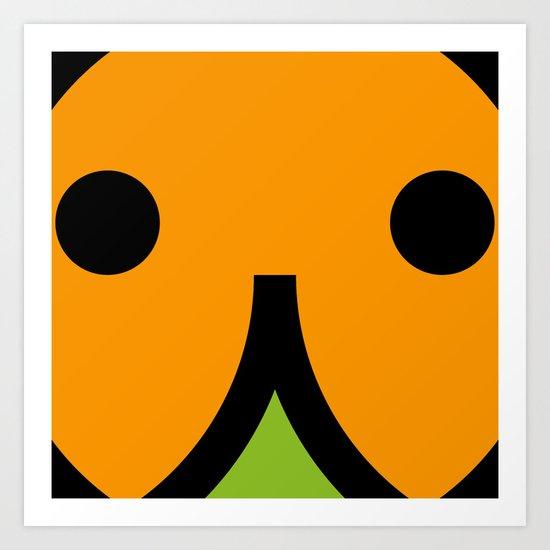 face 7 Art Print