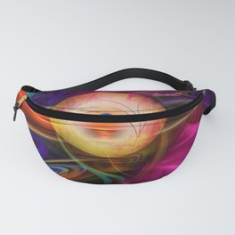 Abstract in perfection -Meditation Fanny Pack