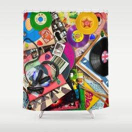 Viva le Vinyl Shower Curtain