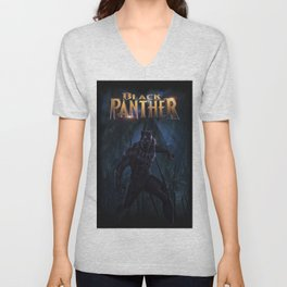 T'Challa , The Black Panther Unisex V-Neck