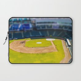 Baseball Field by Monique Ortman Laptop Sleeve