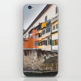 Ponte Vecchio Firenze Florence Tuscany Italy iPhone Skin