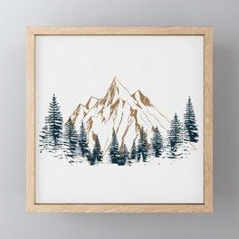 mountain # 4 Framed Mini Art Print