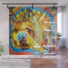 Wassily Kandinsky Fugue Landscape Wall Mural