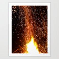 A Spark Neglected  Art Print