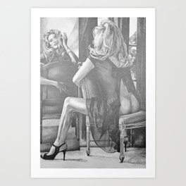 Kate Winslet 2 Art Print