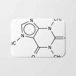Molecular Structure of Caffeine Bath Mat