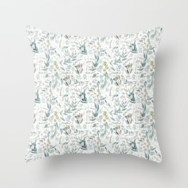 Little Eucalyptus Throw Pillow
