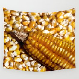 Yellow corn Wall Tapestry