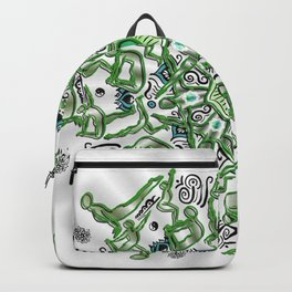 Heart opener mandala Backpack