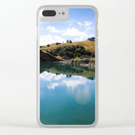 New Zealand back drop Clear iPhone Case