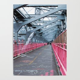 Across the Williamsburg Bridge Poster