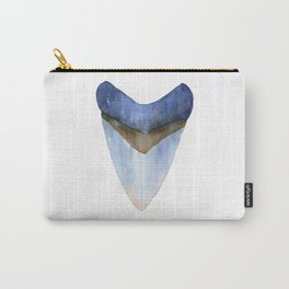 Blue Shark Tooth Carry-All Pouch