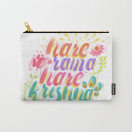 Hare Rama Hare Krishna Carry-All Pouch