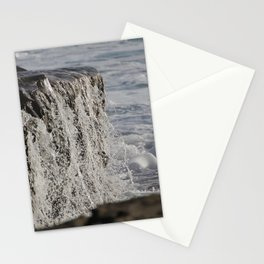 ocean waterfall Stationery Cards