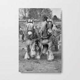 horse powered Metal Print