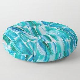 Classic Blue Sugarcane Floor Pillow