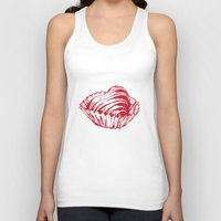 valentine Tank Tops featuring Valentine by Katy V. Meehan