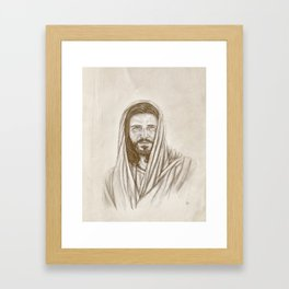 The Savior Framed Art Print