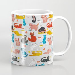 Playful Cats - illustration Coffee Mug