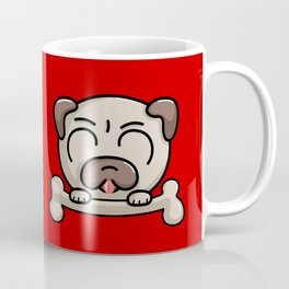Kawaii Cute Pug Dog Coffee Mug