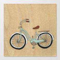 Wanna Ride Bikes? Canvas Print