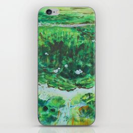 The Water Lily Pond 2 iPhone Skin