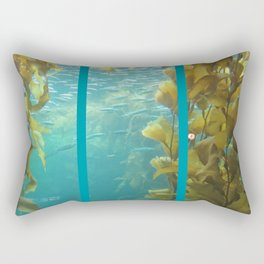 Sea kelp at Monterey Bay Rectangular Pillow